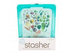 Sáček silikonový na potraviny tyrkysový 1,92 l STASHER