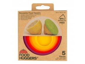 Sada krytů silikonových Podzimní sklizeň 5 ks FOOD HUGGERS