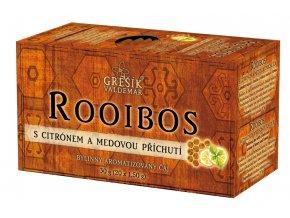 Grešík Rooibos Citrón + Med 20 x 1,5 g