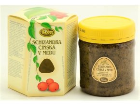 Schizandra čínská v medu Pleva