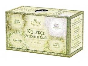 Grešík Kolekce Zelených čajů 4 x 5 n.s.