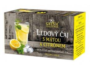 Grešík Ledový čaj s mátou a citrónem 20 x 1,5 g