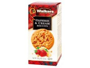 Walkers Strawberries & Cream Biscuits