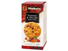 Walkers Caramel & Pecan Biscuits