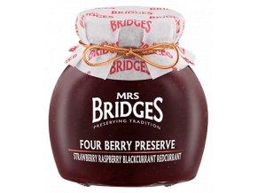 Mrs Bridges Four Berry Extra Jam