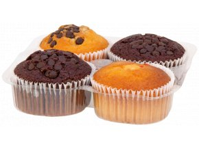 Grays Bakery GRAYS 4 Assorted Muffins