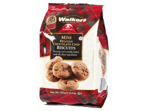 Walkers Bag Mini Oat Belgian Chocolate Chip Biscuits