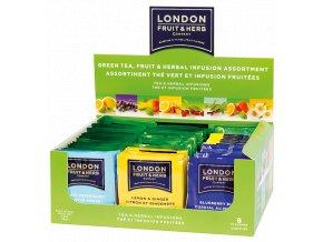 London Fruit & Herb Green Tea, Fruit & Herb Assortment Display