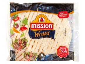 Mission Mission 6 Fresh & Soft Grilled Wraps