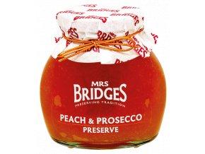 Mrs Bridges Peach & Prosecco preserve