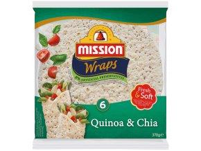 Mission Mission 6 Wraps Quinoa & Chia