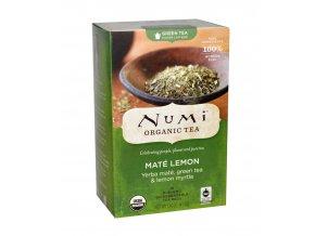Numi čaj bio Zelený s Yerba maté a citronovou myrtou, 18 sáčků