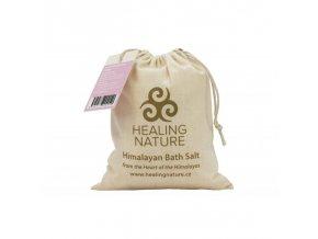 Koupelová sůl růžová jemná, 1 kg