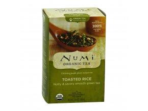 Numi zelený čaj s praženou rýží, 18 sáčků, EXP 12/20, Sleva 30%