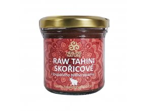 RAW Tahini skořicové, 165 ml