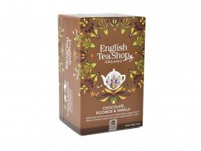 ETS čaj Čokoláda, rooibos a vanilka redesign Mandala