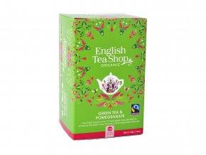 ETS čaj Zelený čaj s granátovým jablkem