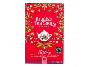 Čaj English Breakfast 20 sáčků BIO ENGLISH TEA SHOP