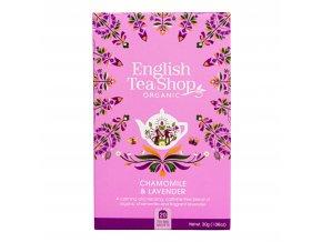 Čaj Heřmánek a levandule 20 sáčků BIO ENGLISH TEA SHOP