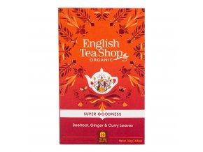 Čaj Červená řepa se zázvorem a kari 20 sáčků BIO ENGLISH TEA SHOP