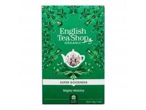Čaj Mocná Matcha 20 sáčků BIO ENGLISH TEA SHOP