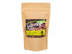 Sušenky bezlepkové s karobem 100 g MADHURÍ