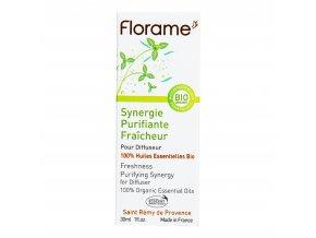 VÝPRODEJ!!!Vzduch čistící synergická směs osvěžující s eukalyptem 30 ml BIO FLORAME