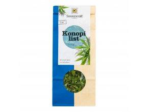 Čaj Konopí list sypaný 40 g BIO SONNENTOR