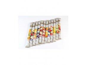 Osvěžující ovocné trubičky (Lavaš) JABLKO bez cukru 140g P0010