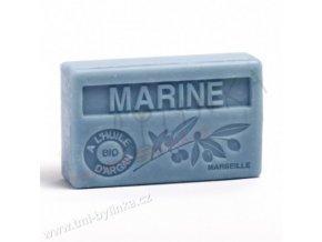Mýdlo s bio arganovým olejem - Marine (Námořní modř) 100g F354