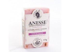 Mýdlo s oslím mlékem DUO - Fleur de cerisier/Lait d´anesse (květy třešně/oslí mléko) 125g F101