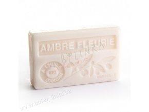 Mýdlo s bio arganovým olejem - Ambre fleurie (Jantarový květ) 100g F104
