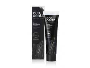 ECODENTA: Černá bělící zubní pasta s černým uhlím a Teavigo 100ml K1245