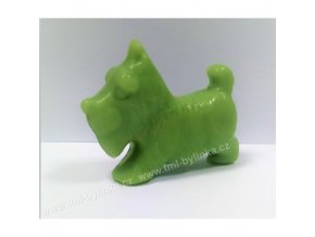 Mýdlo animal - Zelený pes (Jablko) 25g F424