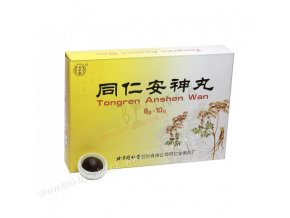 """Pilulky """"Klidný spánek"""" (Tongren Anshen Wan) 10 tbl. J0008"""