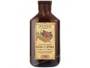 BABIČČINA LÉKÁRNA: Sprchový gel recept č. 84 (rakytník a lesní maliny) 350ml K373
