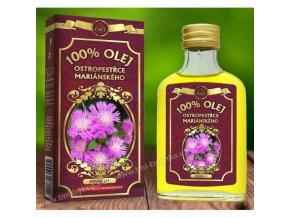 Ostropestřecový olej 100% 200ml RICH (ve skle) O003