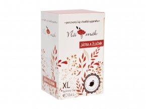 XL čaj Játra a žlučník, 20 sáčků