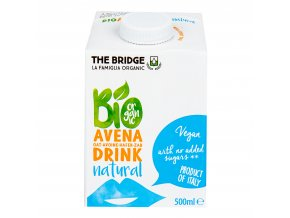 Nápoj ovesný 500 ml BIO THE BRIDGE