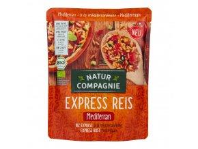 Express rýže středomořská - hotový pokrm 250 g BIO NATUR COMPAGNIE