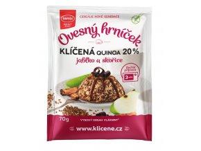SEMIX PLUSO, spl. s r.o. Ovesný hrneček s quinoou, jablky, skořicí BZL 70g Semix