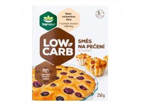 Směs na pečení LOW CARB bezlepková 250 g TOPNATUR