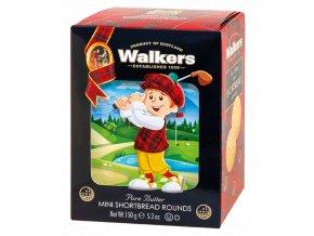 Walkers Golf Mini Shortbread Rounds