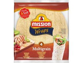 Mission PROMO 1+1 Mission 4 Wraps Multigrain