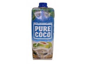 Kokosová voda 100% 500ml Pure Coco