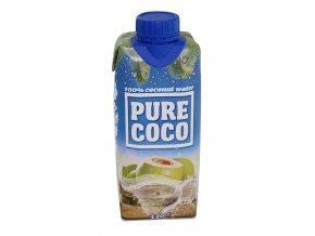 Kokosová voda 100% 330ml Pure Coco