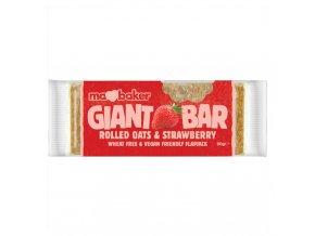 Giant Bar jahoda 90g Ma Baker