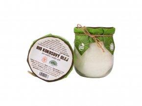 Kokosový olej Baraka BIO RAW, ve skle, 360 ml