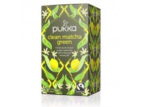 Pukka Clean Matcha Green, 20 sáčků