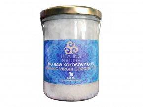 HN BIO RAW Kokosový olej, 450 ml